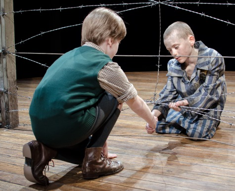 the boy in the striped pyjamas bruno and shmuel