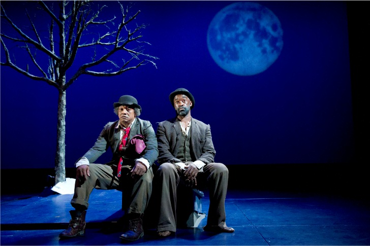 a review of samuel beckets story waiting for godot Waiting for godot is a difficult play to comprehend written by the profound writer samuel beckett, it depicts two men at a side of a road waiting for a man called godot.