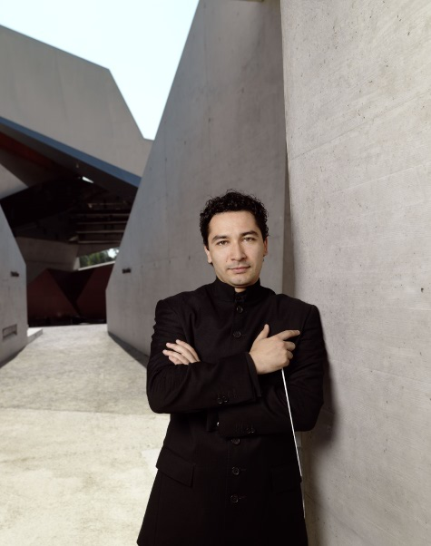 Conductor Andrés Orozco-Estrada who brings animation to the rostrum. Picture by: Peter Rigaud