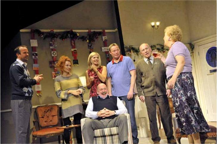 Theatre review seasons greetings m4hsunfo
